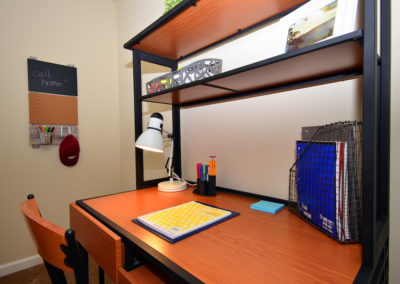 study area in 21 oaks apartment