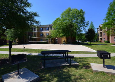 volleyball court for USC students