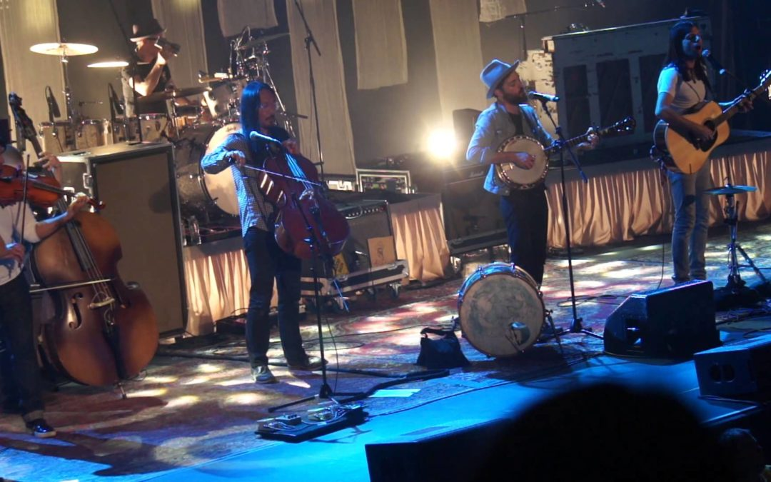 Township Auditorium in Columbia, South Carolina with Tthe Avett Brothers