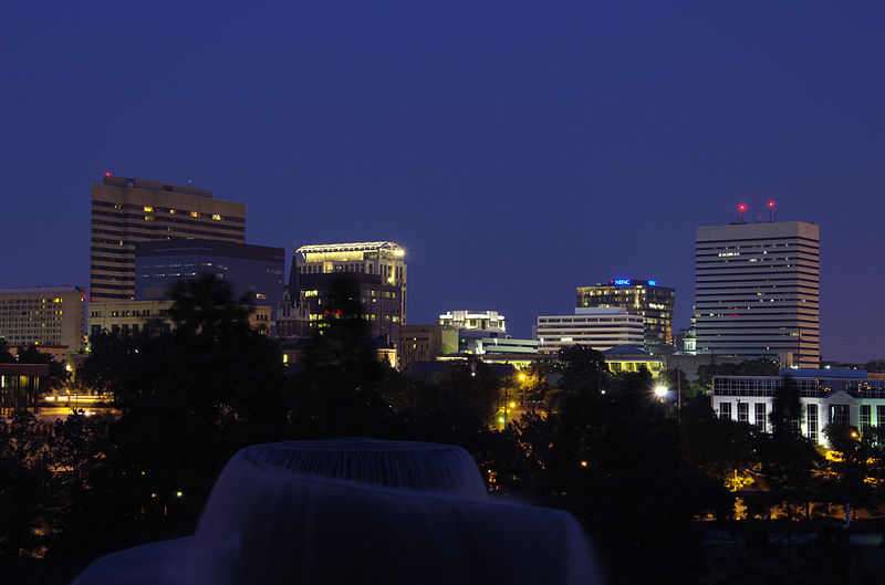 Columbia South Carolina Skyline